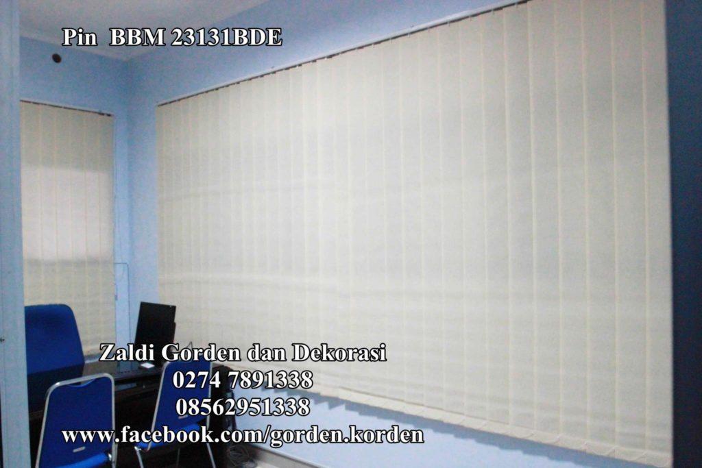 Gorden Vertikal Blind murah Berkualitas