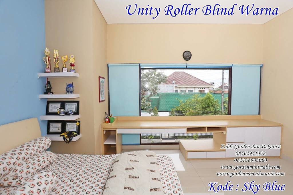 gorden roller blind blackout tipe unity chain