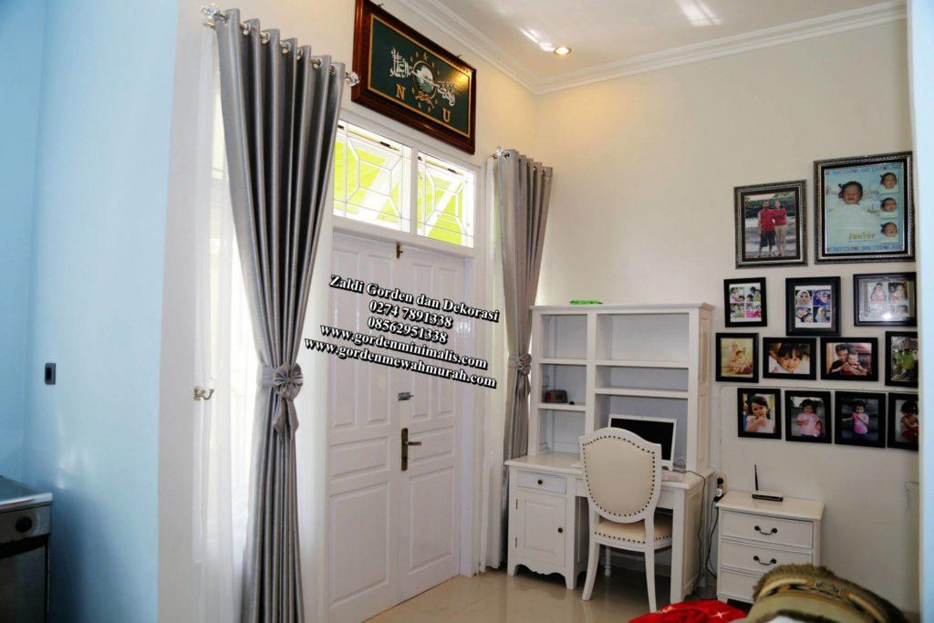 Gorden rumah minimalis modern terbaru