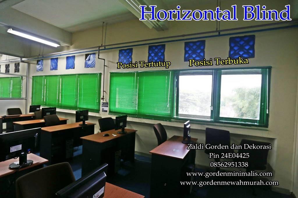 bagian gorden horizontal blind
