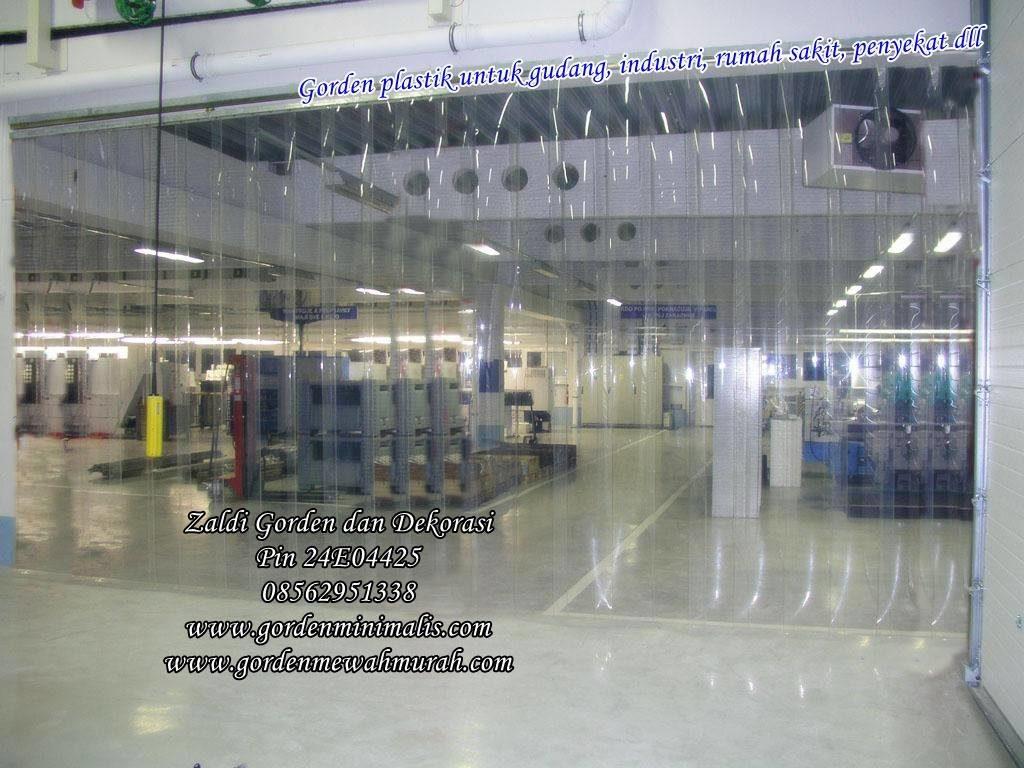 gorden plastik untuk pabrik gudan rumah sakit pvc strip curtain gorden plastik transparan untuk gudang ruang pendingin penahan suhu udara 1