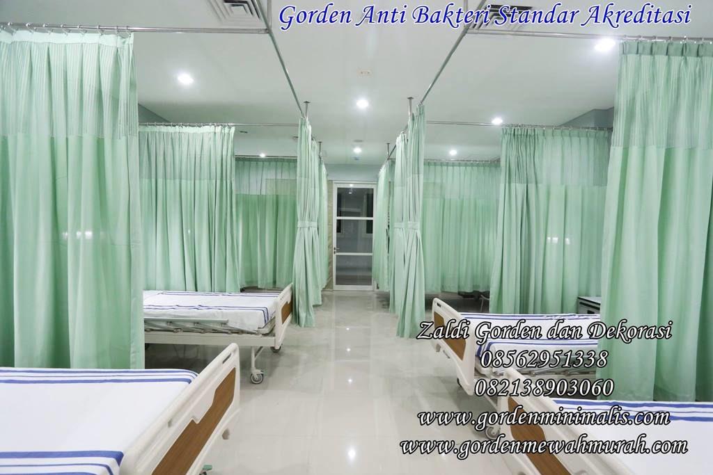 gorden rumah sakit bahan anti bakteri