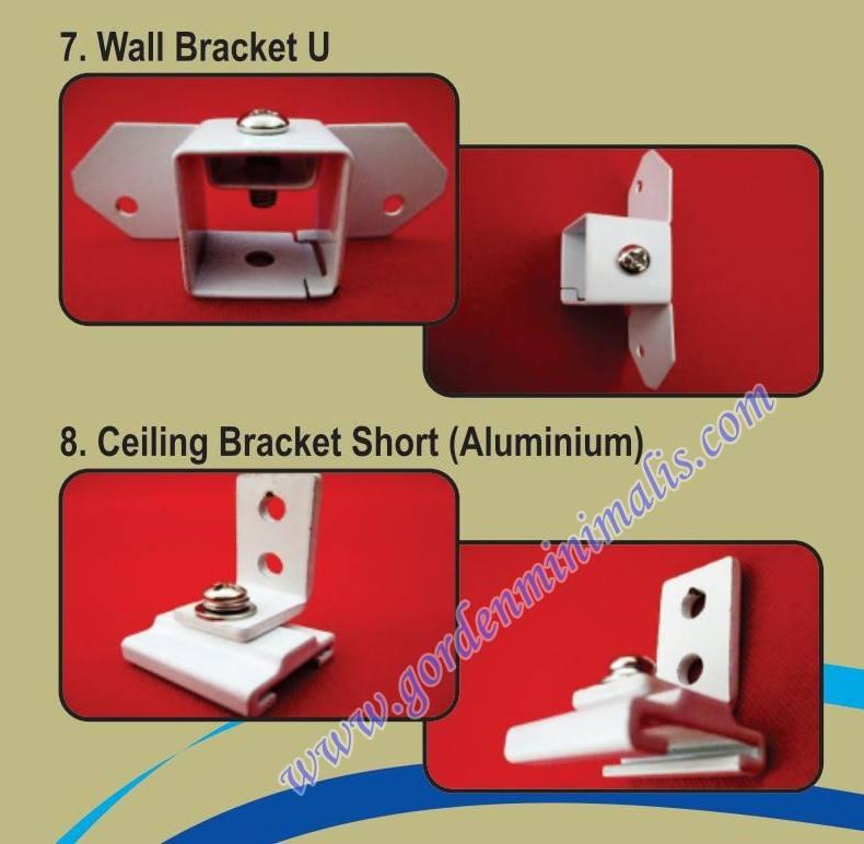 wall bracket u hospital track
