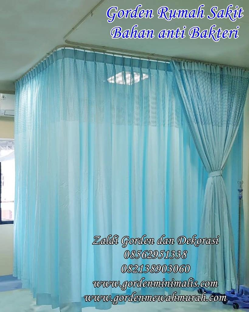 Kain Gorden anti Bakteri ZIT untuk rumah sakit