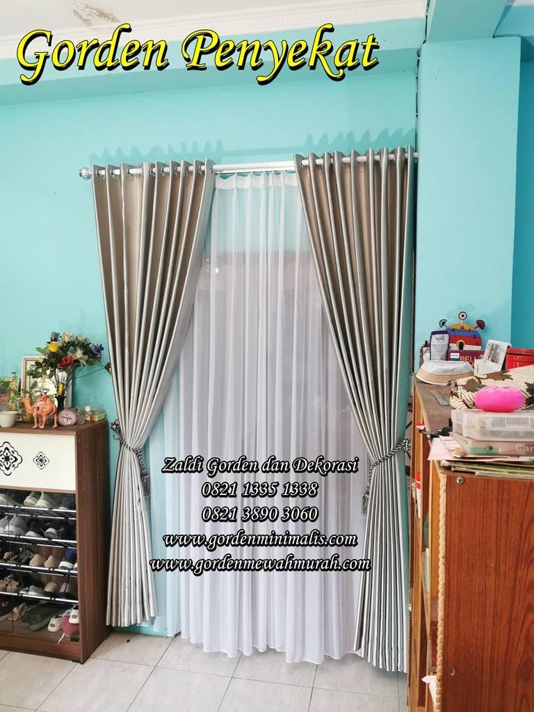 Tirai Gorden Pembatas Ruangan Atau Gorden Penyekat Ruangan