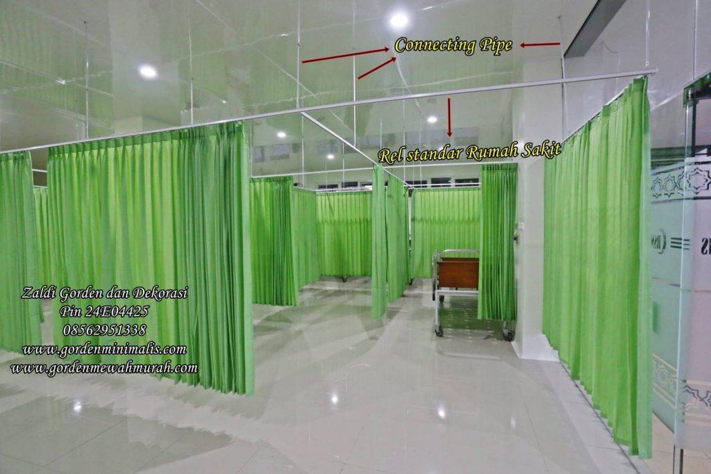 Gorden rumah sakit bahan anti noda