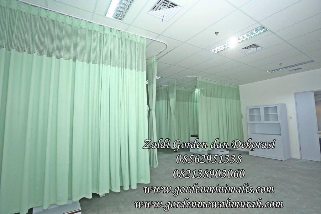 Gorden anti bakteri untuk rumah sakit