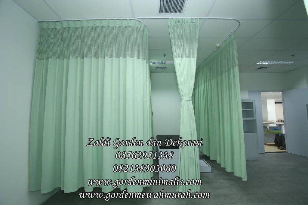 Gorden rumah sakit anti bakteri anti darah