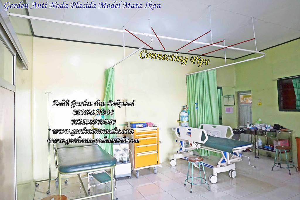 gorden rumah sakit bahan anti darah anti bakteri