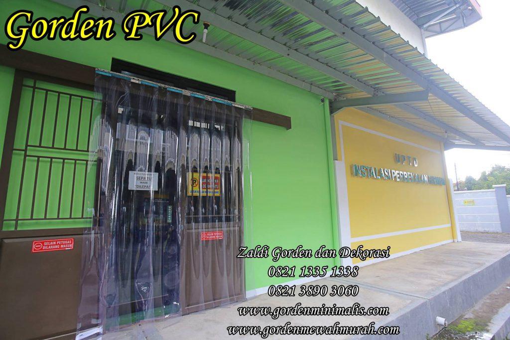Gorden PVC Strip curtain untuk ruang obat
