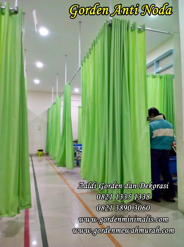 Gorden rumah sakit bahan anti darah