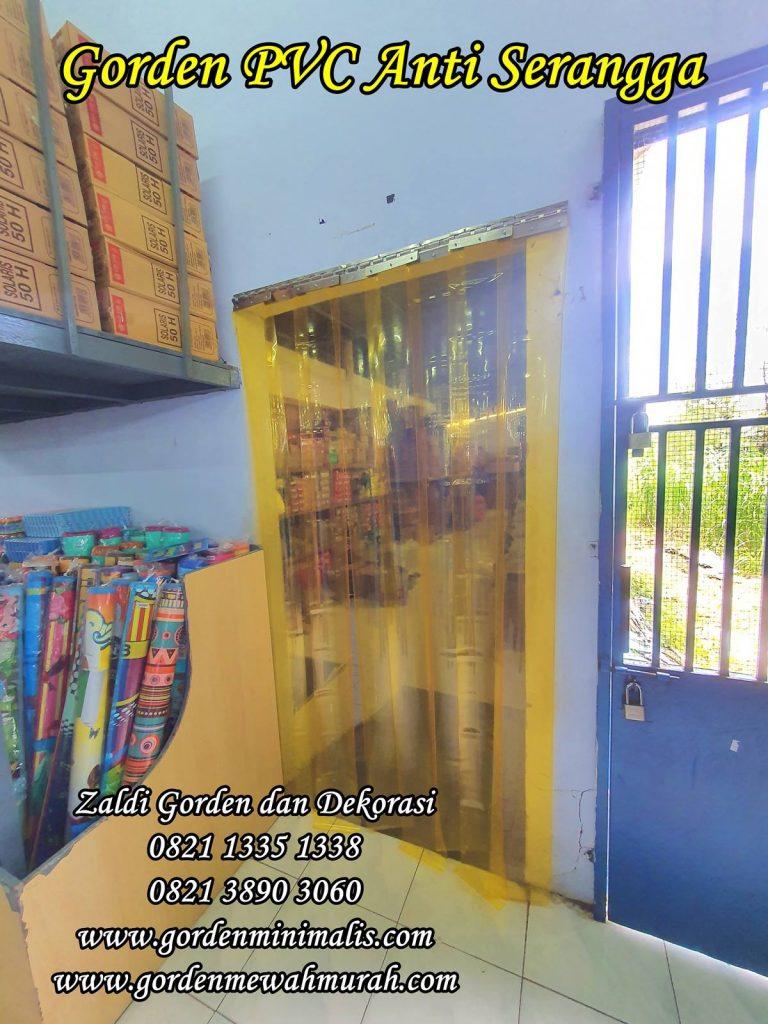 Tirai Plastik plastic curtain penyekat pintu ruang dingin